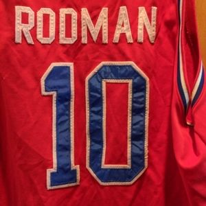 Dennis Rodman Detroit Pistons jersey